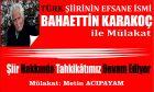 Şair Bahaettin Karakoç ile Mülakat